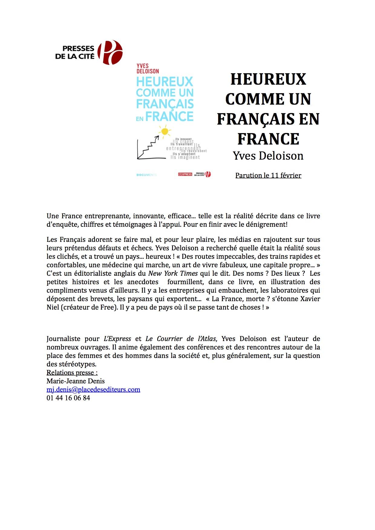 Deloison Yves , Heureux comme un français en France.docx